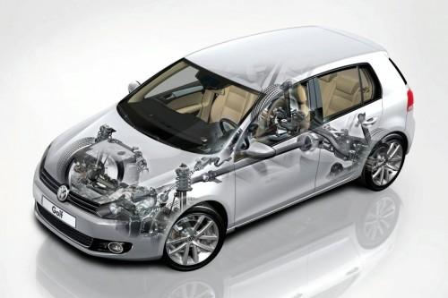 VW Golf s pohonem 4Motion