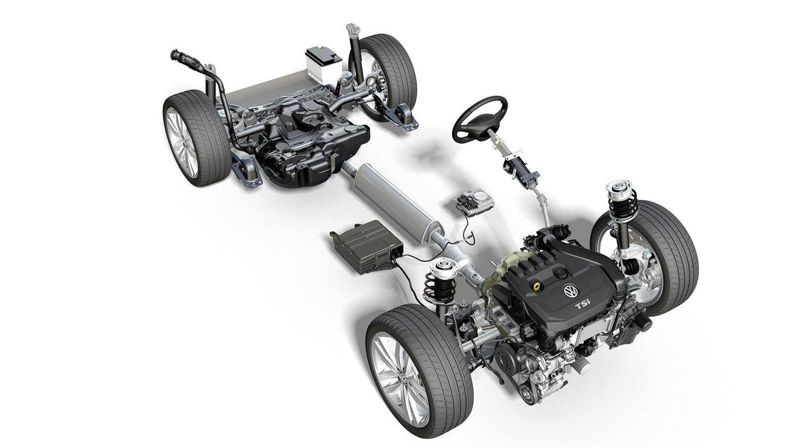 VW Golf 8. gen - MHEV