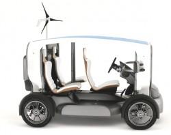 Venturi Eclectic – auto na vítr