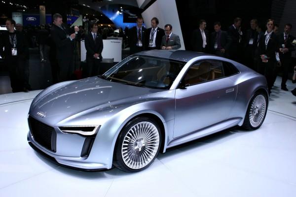 koncept Audi e-tron 2009