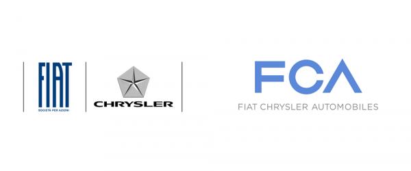 logo FCA (Fiat Chrysler Automobiles)