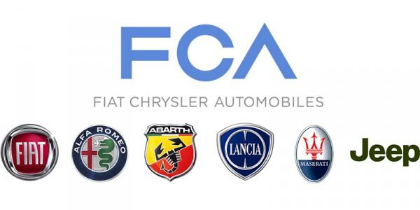 hlavní značky koncernu FCA