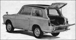 Austin A40 Farina Countryman pøedstavený v roce 1958