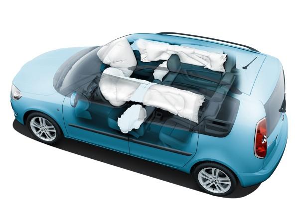 hlavový airbag Škoda Roomster