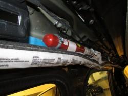 umístění hlavového airbagu ve vozidle