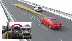 autonomní řízení - stupeň 1
