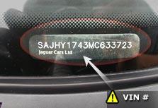 VIN kód (Vehicle Identification Number)