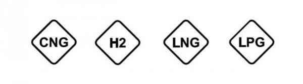 nové značení plynných paliv