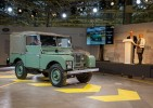 nejstarší Land Rover na svìtì HUE 166 z roku 1948
