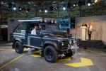 "slavnostní konec výroby - Land Rover Defender ""Tomb Raider"""