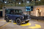 slavnostní konec výroby - Land Roveru Defender Limited Edition Autobiography 2015
