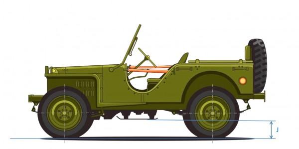 světlá výška vozidla