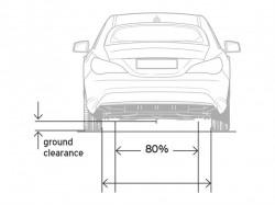 střední část podvozku vozidla
